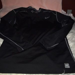 Black hyper warm long sleeve
